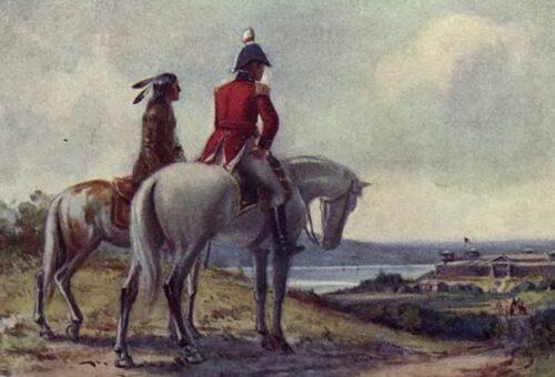 Brock and Tecumseh